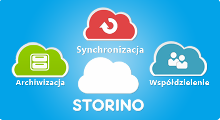 Storino - Synchronizacja, współdzielenie, archwizacja